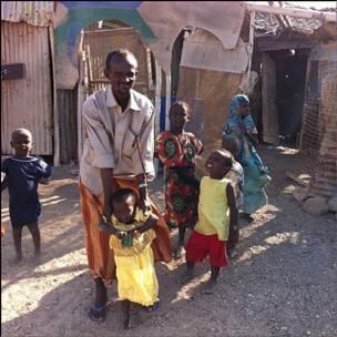 Семья в Джибути