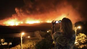 كما تسببت في إجلاء 13 ألف شخص من المنطقة