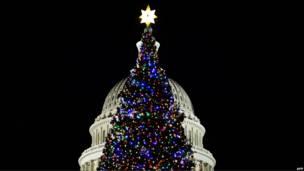 елка у Капитолия