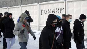 До акции на Манежной болельщики собирались на севере Москвы, где погиб Свиридов