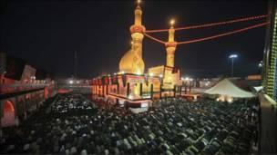 مرقد الإمام العباس في كربلاء