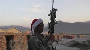 Американский военнослужащий в Афганистане