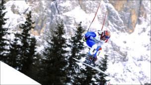 Тренировки горноложников в Италии