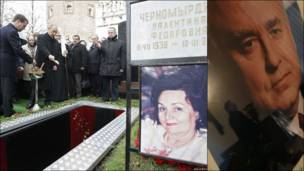 Похороны Виктора Черномырдина