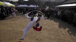 احتفال بالشتاء على الطريقة الكورية