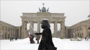 برلين بالثوب الأبيض