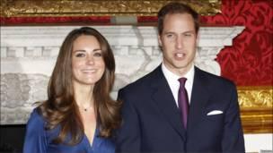 威廉王子与凯特·米德尔顿
