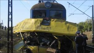 Аварія біля Дніпропетровська