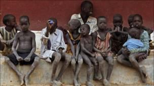 کودکان سودانی