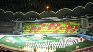 Festival Arirang en Corea del Norte
