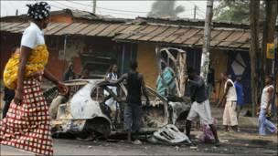 Волнения в Кот-д'Ивуаре