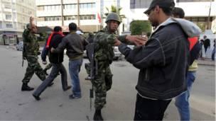 قوات تونسية