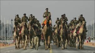 Солдаты на верблюдах