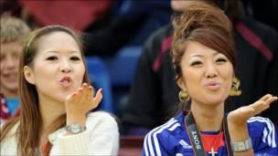 هواداران تیم ژاپن