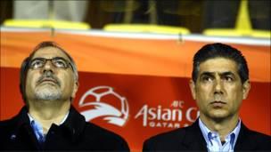 مسابقه فوتبال ایران و کره جنوبی
