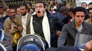 "بالصور: ""يوم غضب"" بمصر"