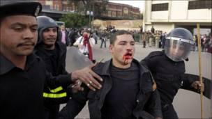 """بالصور: """"يوم الغضب"""" بمصر"""