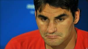 Федерер после поражения