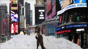 Нью-йоркская Times square