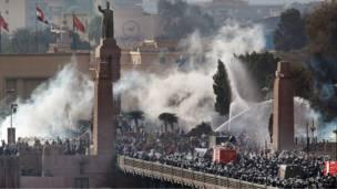 مواجهات عند جسر قصر النيل