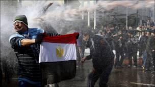 Демонстрант в Египте