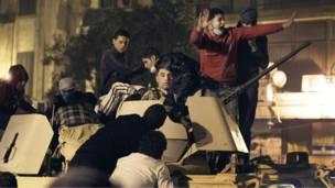 الجيش في شوارع القاهرة