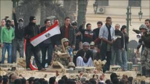 ناآرامی های مصر، روز پنجم