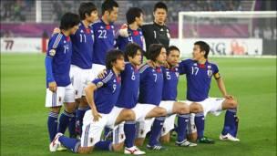 بازی فوتبال ژاپن و استرالیا
