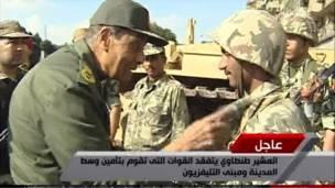 وزير الدفاع المصري صنطاوي