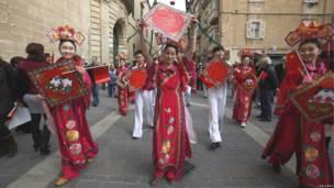 Biểu diễn nghệ thuật tại Valletta Malta