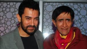 आमिर ख़ान और देव आनंद.
