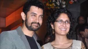 आमिर ख़ान और किरण राव.
