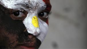 متظاهر مصري مضاد للحكومة