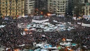 عاد الميدان فامتلأ بالمحتجين