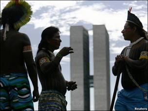 مراسم بومیان برزیل