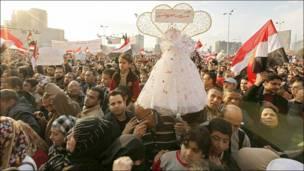 मिस्र में फिर बड़ा प्रदर्शन