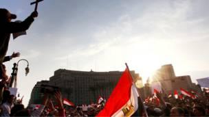 يوم اخر من احتجاجات مصر