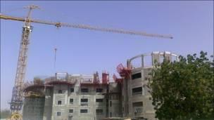 Tòa nhà của tập đoàn dầu khí quốc gia Trung Hoa đang được xây dựng tại thủ đô Niger
