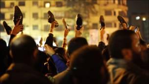 तहरीर चौक के लोगों की प्रतिक्रिया