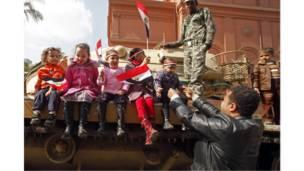 أطفال وجيش