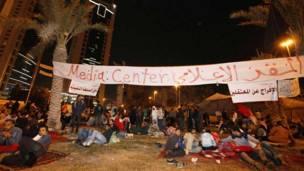 Hotuna: Zanga-zangar adawa da gwamnati a Bahrain