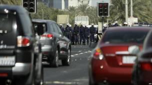 قوات أمن بحرينية