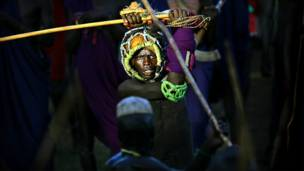 Житель Африки