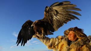 Охотник из Монголии