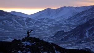 Панарамный снимок Монголии