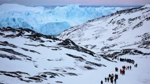 Илулиссат в западной Гренландии