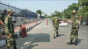 बीएसएफ़ के सुरक्षाकर्मी