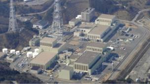 АЭС в городе Онагава