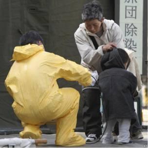 Эвакуация жителей Мияги