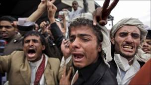 Protestas en Yemen